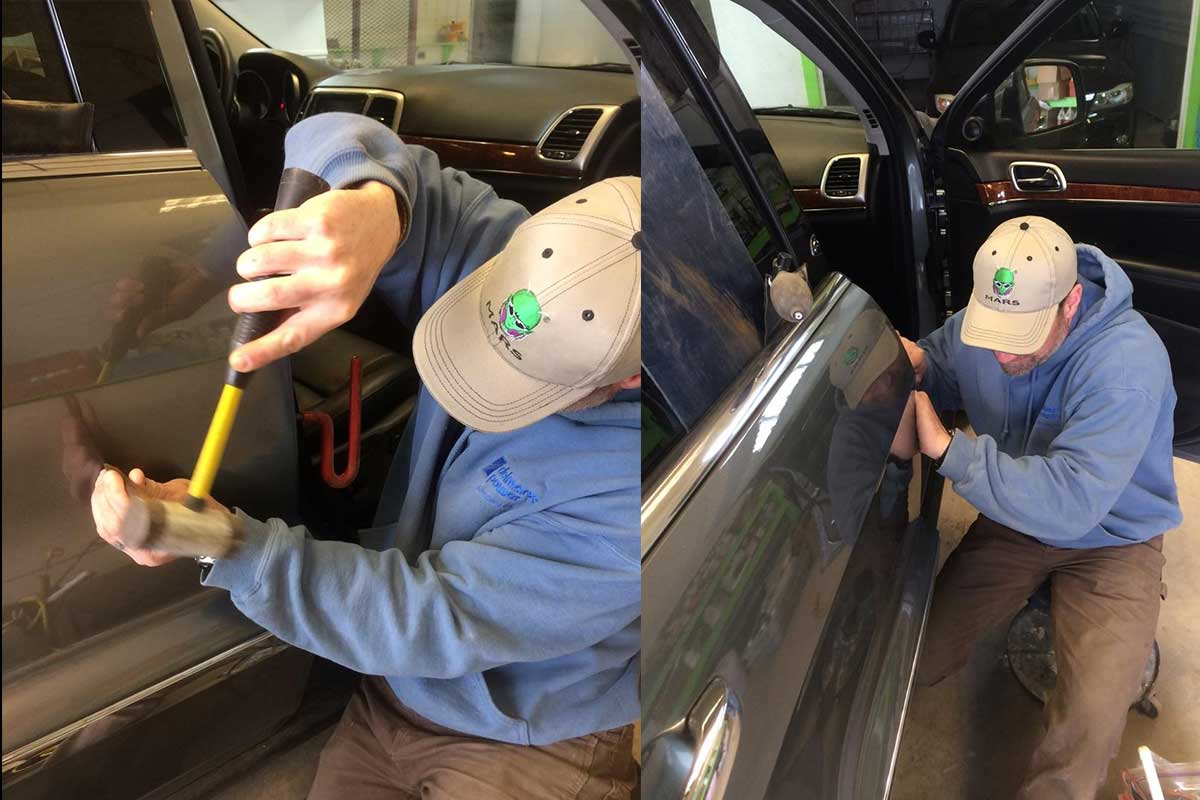 Phil Gestwicki Paintless dent removal, PDR