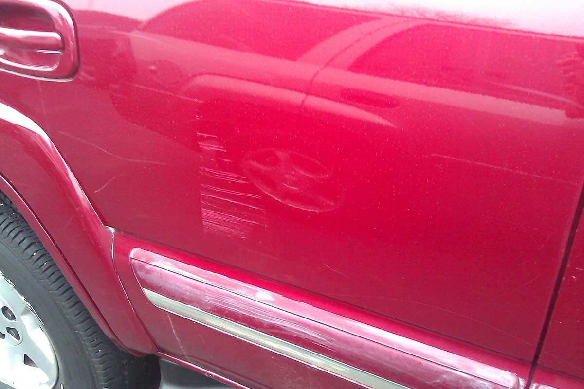Buffing and Scratch Removal | Alien Car Care - Kalamazoo