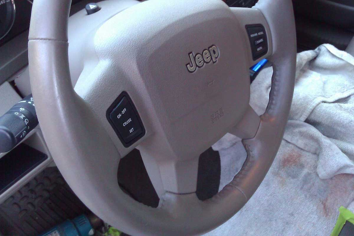 Steering wheel like new