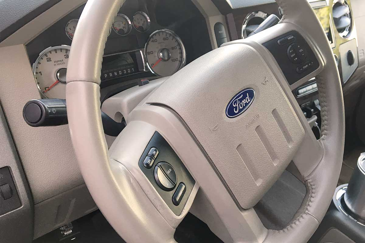 Ford steering wheel comprehensive dyeing