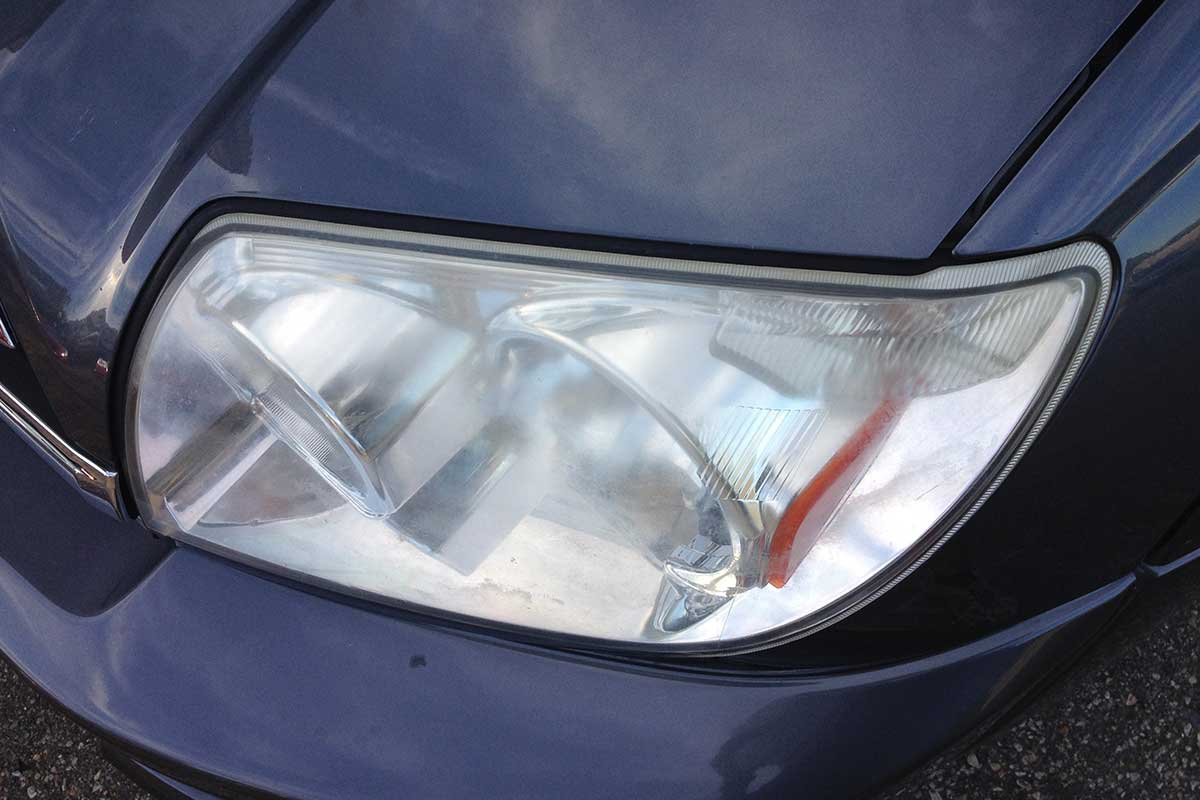 Dim headlight fix before