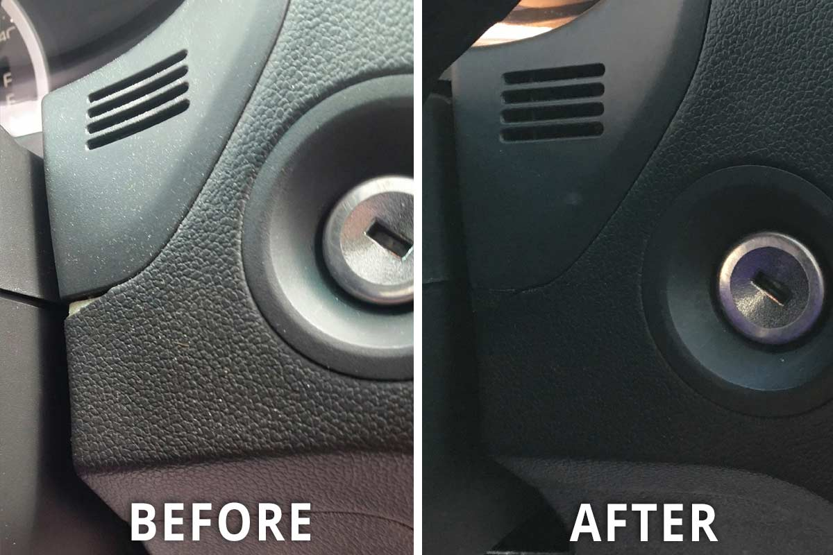 How To Repair Car Interior Plastic Scratches